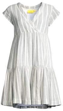 Roller Rabbit Saanvi Stripe Empire Waist A-Line Dress