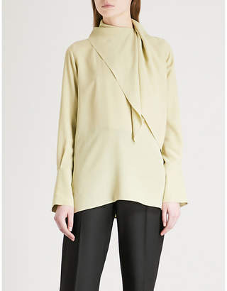 Joseph Geoff silk-crepe de chine blouse
