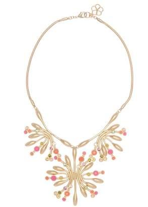 Trina Turk Botanicals Stone Burst Flower Pendant Necklace