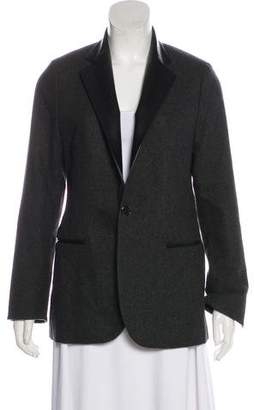 Ralph Lauren Black Label Virgin Wool Button-Up Blazer