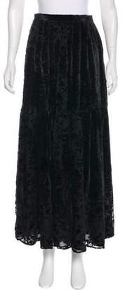 Giorgio Armani Velvet Midi Skirt w/ Tags