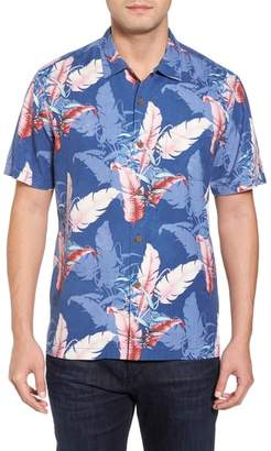 Tommy Bahama Shadow Fronds Silk Camp Shirt