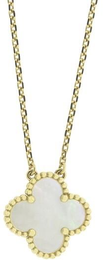Van Cleef & ArpelsVan Cleef & Arpels Yellow Gold Vintage Alhambra Necklace