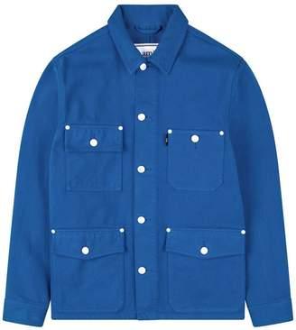 Ami Worker Denim Field Jacket