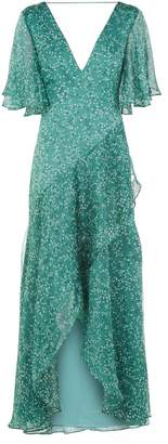 Keepsake The Label Ditsy Printed Georgette Maxi Dress