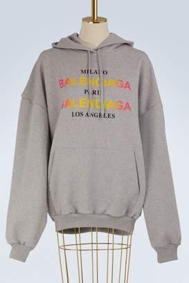 Balenciaga Milano Paris La oversize sweatshirt