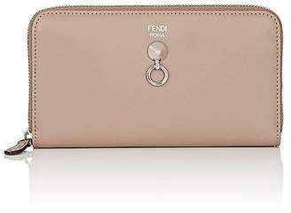 Fendi Women's ABClick Zip-Around Wallet