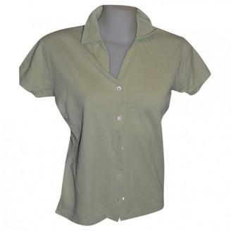 Loro Piana Green Cotton Top for Women