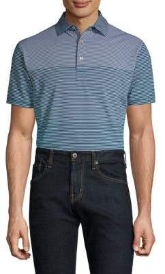 Peter Millar Bickett Engineered Stripe Polo Shirt