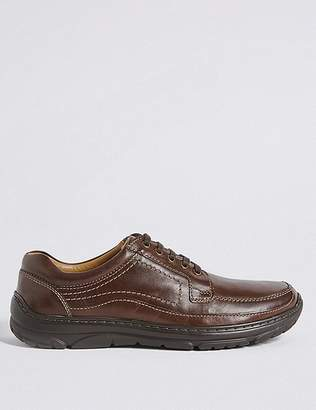 """Marks and Spencer Extra Wide Fit Leather Shoes with Airflexâ""""¢"""