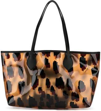 Just Cavalli leopard print tote