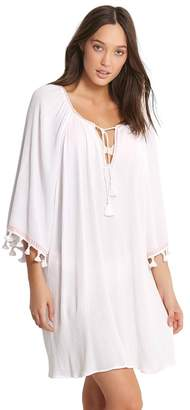 Seafolly Tassel Trim Cover Up