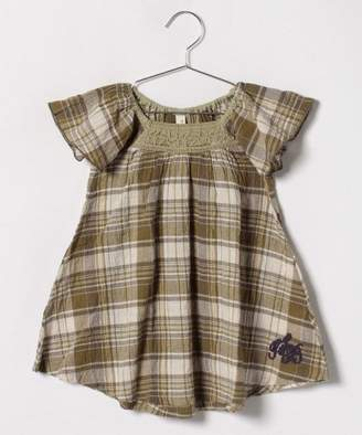 Tinkerbell 女楊柳チェックワンピース(80〜120cm)