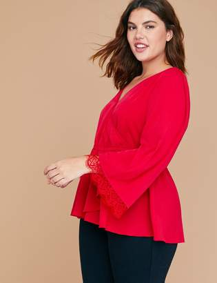 9b48cb974f8678 Lane Bryant Red Plus Size Tops - ShopStyle