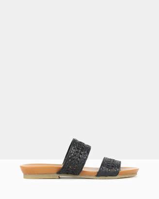 Airflex Jemma Woven Footbed Sandals