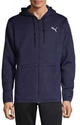 Puma Logo Hooded Jacket