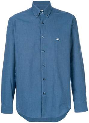 Etro casual slim-fit shirt