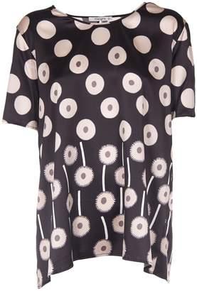 Kangra Cashmere Printed T-shirt