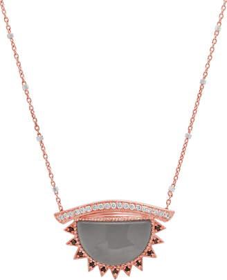 Conges Inspire & Calm Large Aquamarine Third Eye Necklace