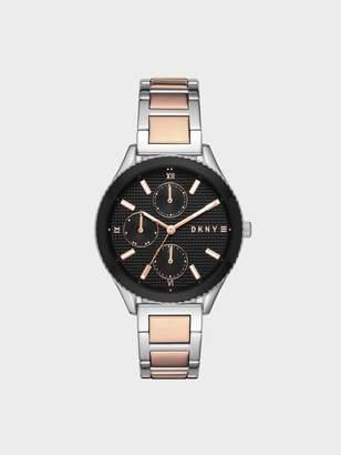 DKNY Rockaway Stainless Steel Two-Tone Watch