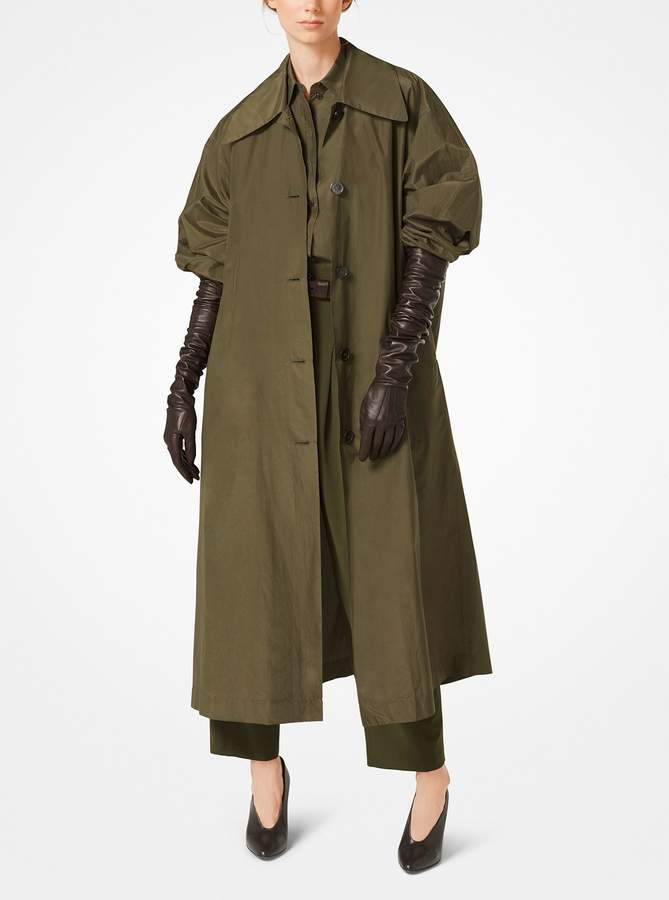 Michael Kors Collection Leather Gloves