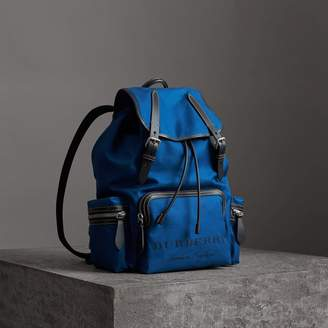 Burberry The Large Rucksack in Cotton Canvas