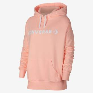 Converse Star Chevron Oversized Pullover Womens Hoodie