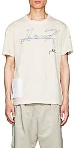 """A-Cold-Wall* Men's """"ACW 17"""" Cotton T-Shirt - Beige, Tan"""