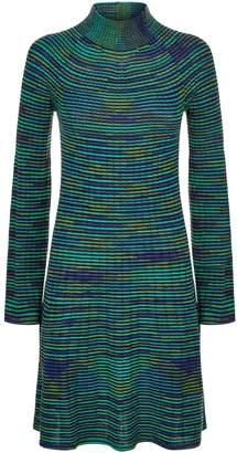 M Missoni Stripe Knit Midi Dress