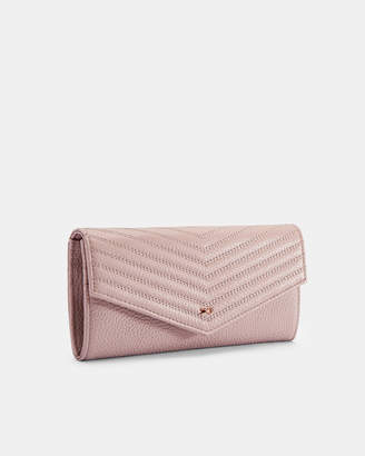 06a7dbdf05 Ted Baker TONYA Quilted leather envelope matinee purse