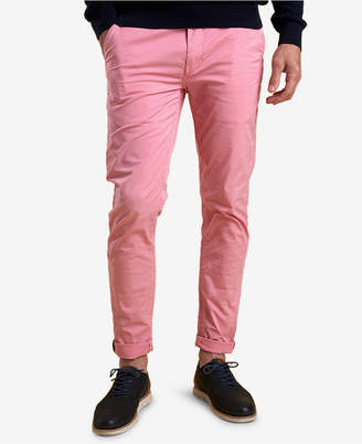 Barbour Men's Neuston Slim-Fit Stretch Light Pink Chinos