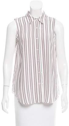 Jenni Kayne Striped Silk Top w/ Tags
