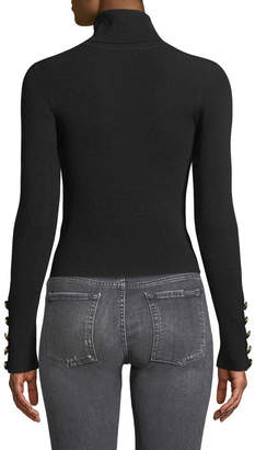 A.L.C. Desi Ribbed Merino Turtleneck Sweater