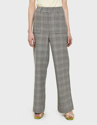 Ganni Garvey Plaid Pant
