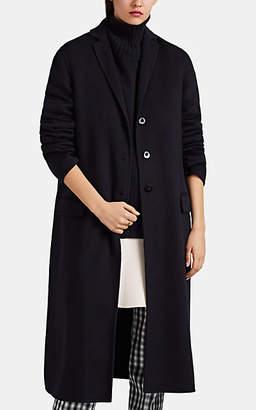 Jil Sander Women's Fullerton Cashmere Melton Coat - Navy