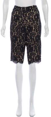 Robert Rodriguez Lace Cropped Pants