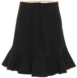 Chloé Crepe miniskirt