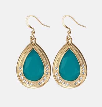 Avenue Empress Teal Drop Earrings