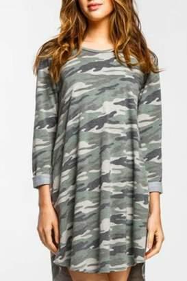 American Fit Camo Raglan Dress