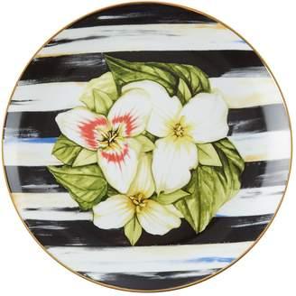 Mackenzie Childs Mackenzie-Childs Thistle and Bee Trillium Salad Plate (21cm)