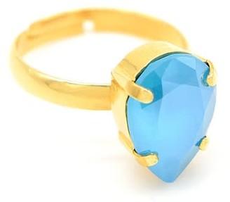 Rosaspina Firenze Azure Blue Drop Ring
