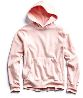 Todd Snyder + Champion Terry Popover Hoodie Sweatshirt in Peony