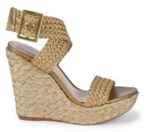 Stuart Weitzman Alex Espadrille Wedge Sandals