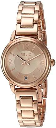 Relic Women's Lila Quartz Stainless Steel and Alloy Dress Watch