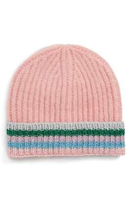 Topshop Rainbow Beanie Hat