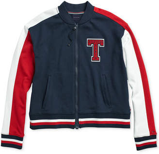 Tommy Hilfiger Women's Brickell Bomber Jacket From The Adaptive Collection