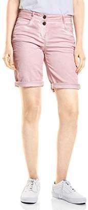 Cecil Women's 371385 New York Deco Bermuda Shorts,(Manufacturer Size : 31)