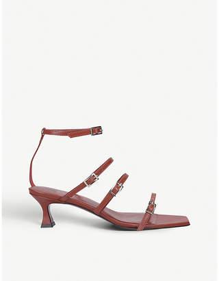 Atelier Manu Naomi leather heeled sandals