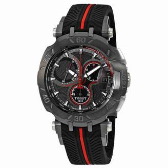 Tissot T-Race Dial Men's Rubber Chronograph Watch T092.417.37.067.00