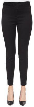 Lela Rose Stretch Skinny Pants, Black $795 thestylecure.com